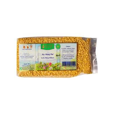 Mung dal 500g  - LUOMU